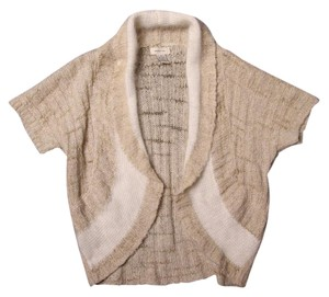 Anthropologie Shrug Metallic Cardigan