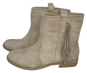 JustFab Beige Boots