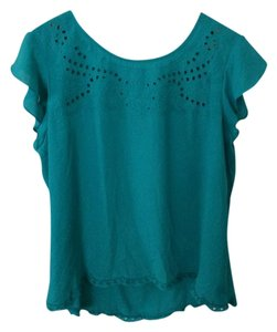 Xhilaration Blue Top Teal