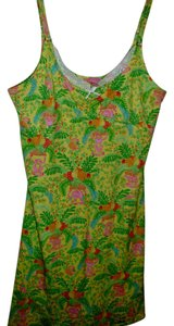 Lilly Pulitzer Lily Pulitzer bright animal print nightgown lingerie gift