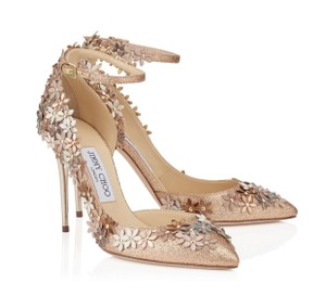 Jimmy Choo Lorelai Blush Pumps