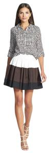 Kate Spade Color-blocking Mini Skirt
