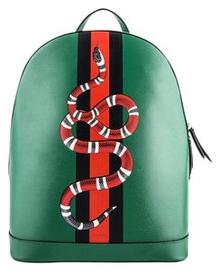 041b3ec3aeef Added to Shopping Bag. Gucci Backpack. Gucci * and Snake Leather Backpack