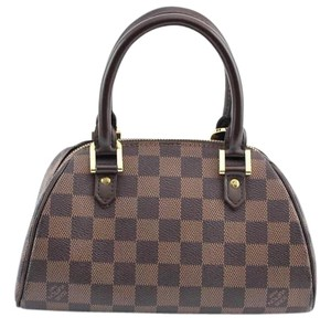 Louis Vuitton Rivela Hand Satchel in Damiere Ebene