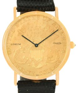 Corum Corum 20 Dollars Double Eagle Yellow Gold Coin Year 1906 Watch