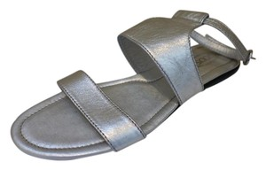 Tod's Silver Sandals