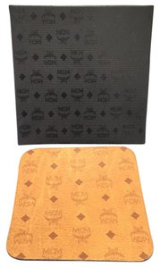 MCM MCM Mouse Pad Cognac Brown Monogram Leather Mneverfull and pouch ousepad