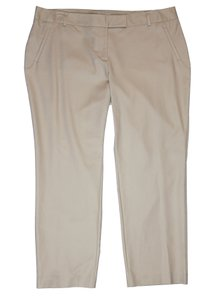 Charter Club Straight Pants Beige