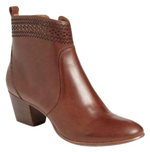 Aerin Leather Brown Boots
