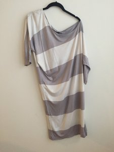 Lavender and White Stripes Maxi Dress by French Connection