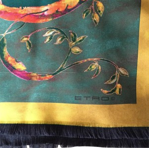 Etro NEW silk scarf