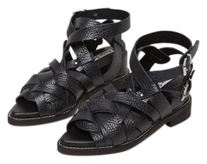 Acne Studios Leather black Sandals