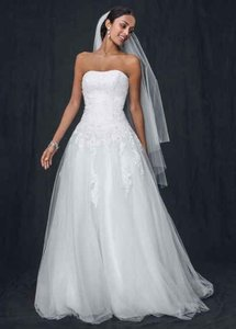 David's Bridal Wg3316 Wedding Dress