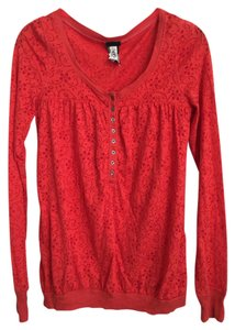 Free People Boho Henley Sweater