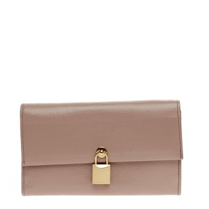 Tom Ford Leather Dust Pink Clutch