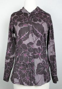 Etro Floral Top brown pink