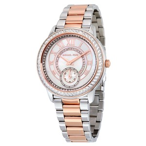 Michael Kors Michael Kors Women's MK6288 Madelyn Silver and Rose Gold-Tone Watch
