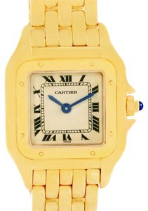 Cartier Cartier Panthere Ladies 18k Yellow Gold Diamond Watch W25022B9