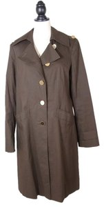 Elie Tahari Trench Jacket Pea Coat