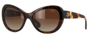 Chanel 5321 CC Logo Cat Eye Signature Oversized Classic Cateye Polarized