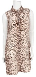Equipment short dress Leopard on Tradesy
