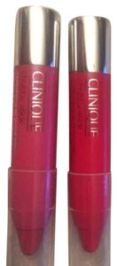 Clinique 2 Clinique moisturizing lip Balm chubby sticks