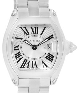 Cartier Cartier Roadster Silver Dial Ladies Watch W62016V3 Box Papers