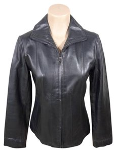 Kenneth Cole Leather Leather Jacket