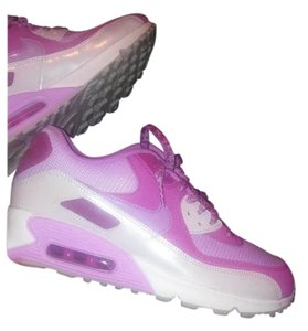 Nike pink , white and silver Athletic