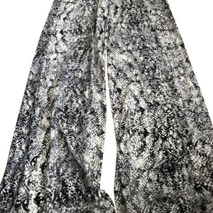 Seven7 Wide Leg Pants Blue/grey/white