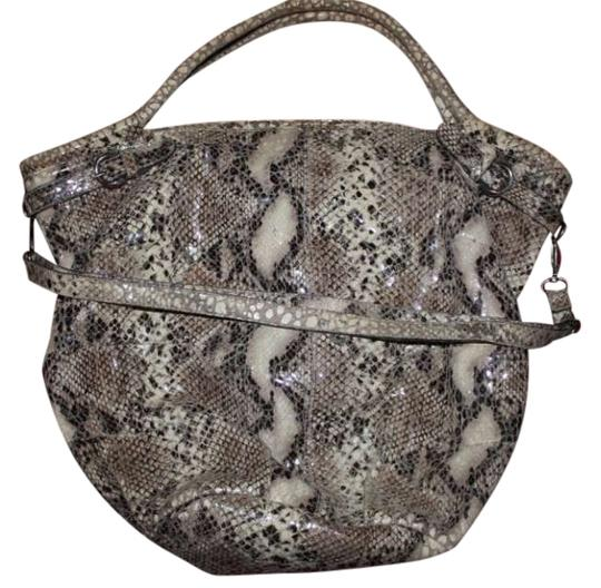 Gianfranco Pini of Bologna, Italy Hangbag Italian Designer Large Python Print Straps Made In Purse Weekender Purse Tote Snake Luxury Brand Satchel Shoulder Bag