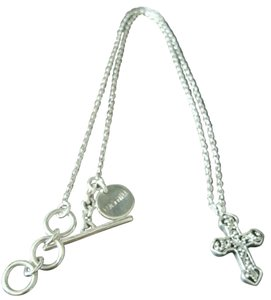 Lois Hill Lois Hill Reversible Cross Sterling Silver Necklace