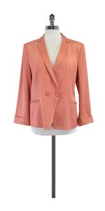 Reiss Pink Double Front Button Blazer