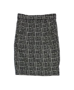 Alexander Wang Black Tan Printed Pencil Skirt