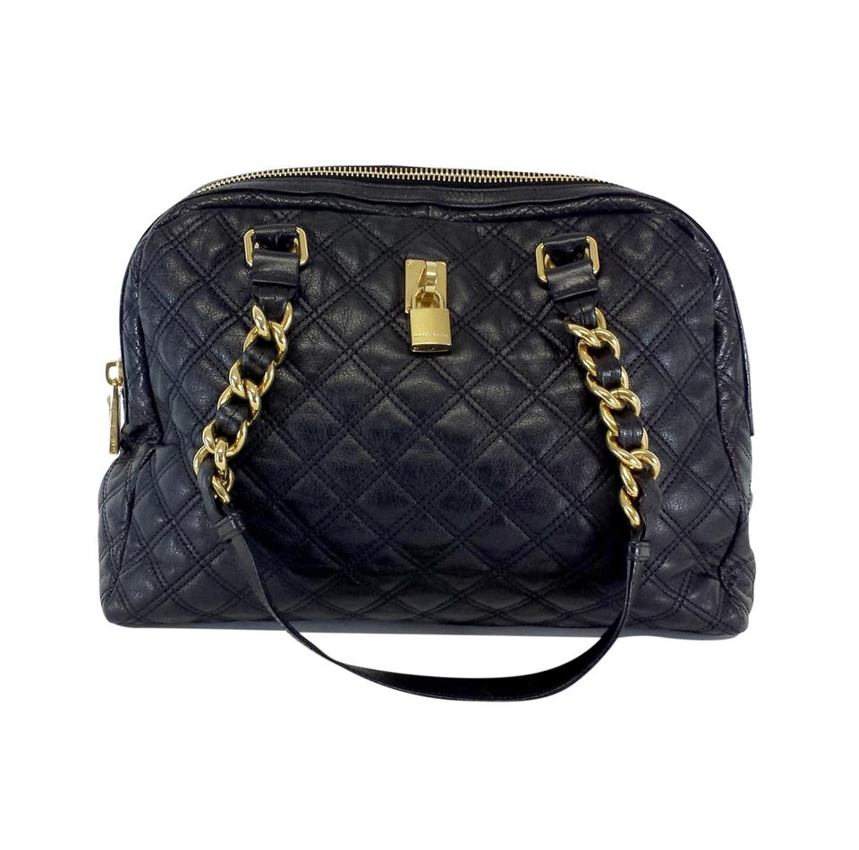 Marc Jacobs Large Quilted Black Leather Hobo Bag - Tradesy f8fd131c4c