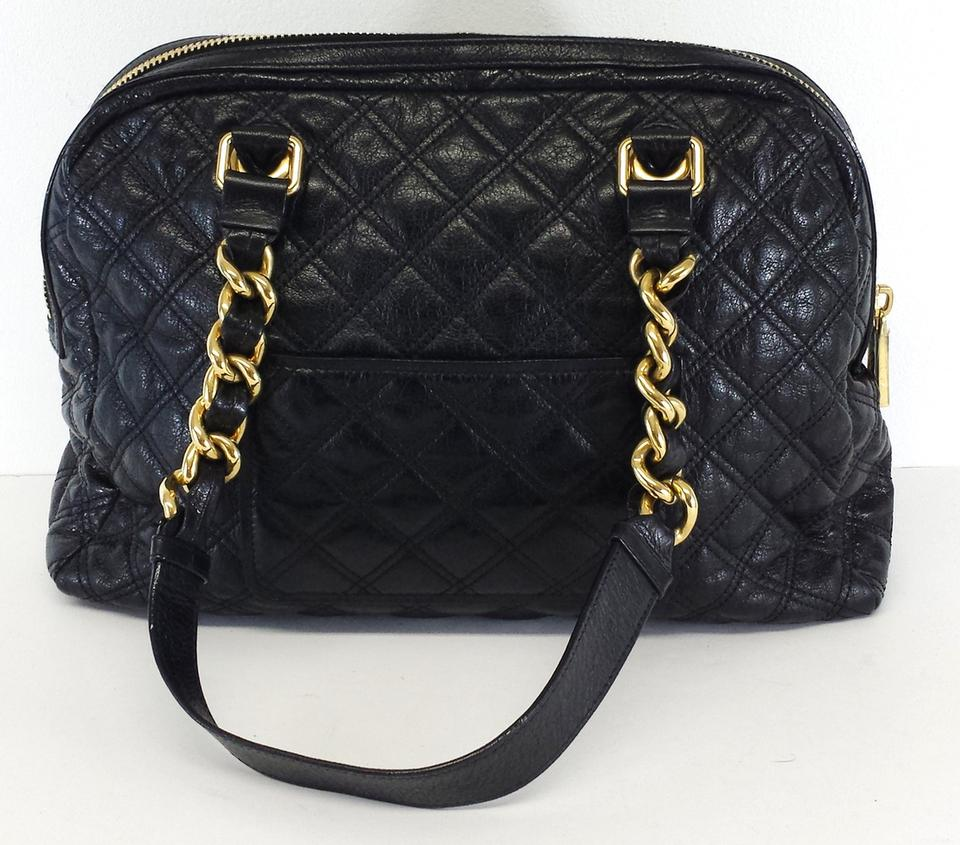 b4ac7fd19530 Marc Jacobs Large Quilted Leather Hobo Bag Image 7. 12345678