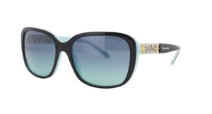 Tiffany & Co. NEW Enchant Sunglasses TF 4120B c. 8005/9S Black on Tiffany Blue
