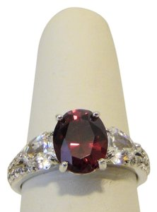 Jean Dousset Jean Dousset 5.26ctw Absolute Created Ruby Ring 3-Stone