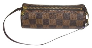 Louis Vuitton Mini Papillon Wristlet in Damier