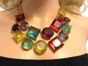 Kate Spade Large Gemstone Necklace