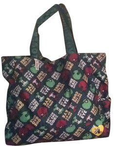 Harajuku Lovers Satchel in Green Multi