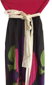 A Common Thread Skirt Green and red