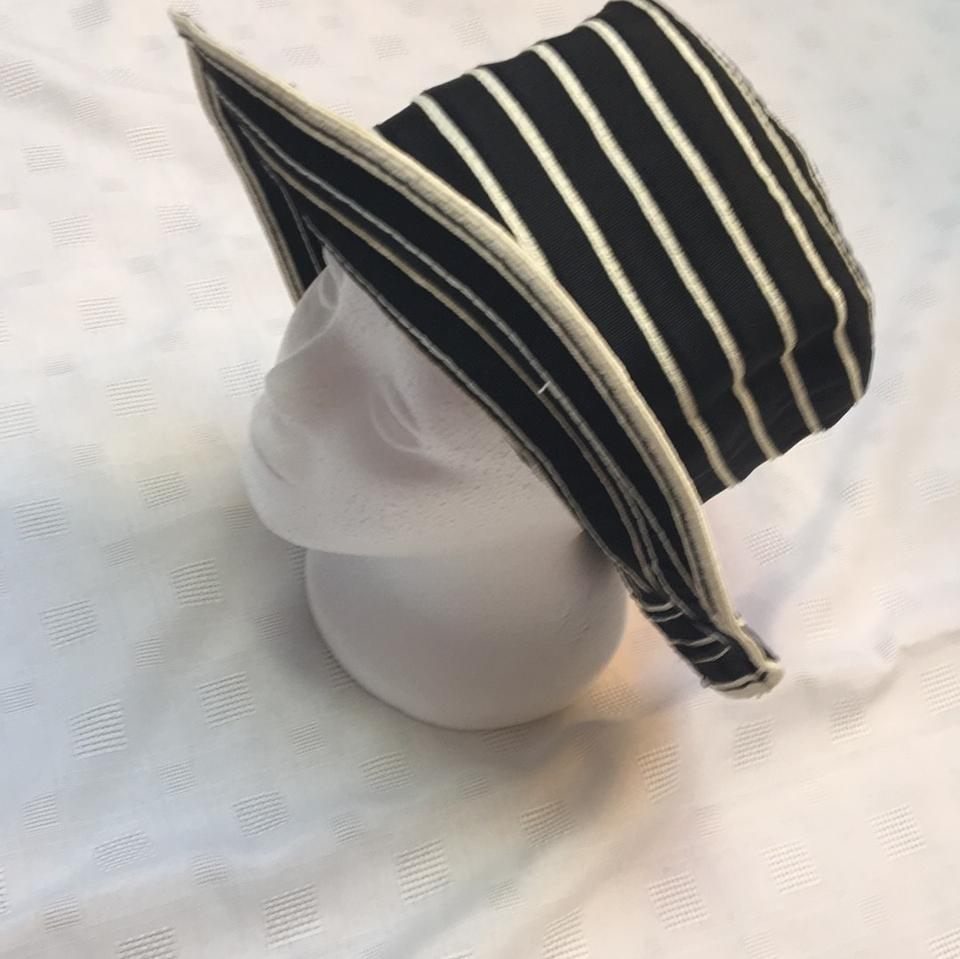a43408ee1 Peter Grimm Black/Ivory And Cream Natural Fiber Packable Hat