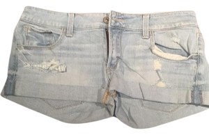 Abercrombie & Fitch Cuffed Shorts Denim