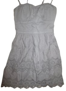 American Eagle Outfitters short dress Gray Size 0 on Tradesy