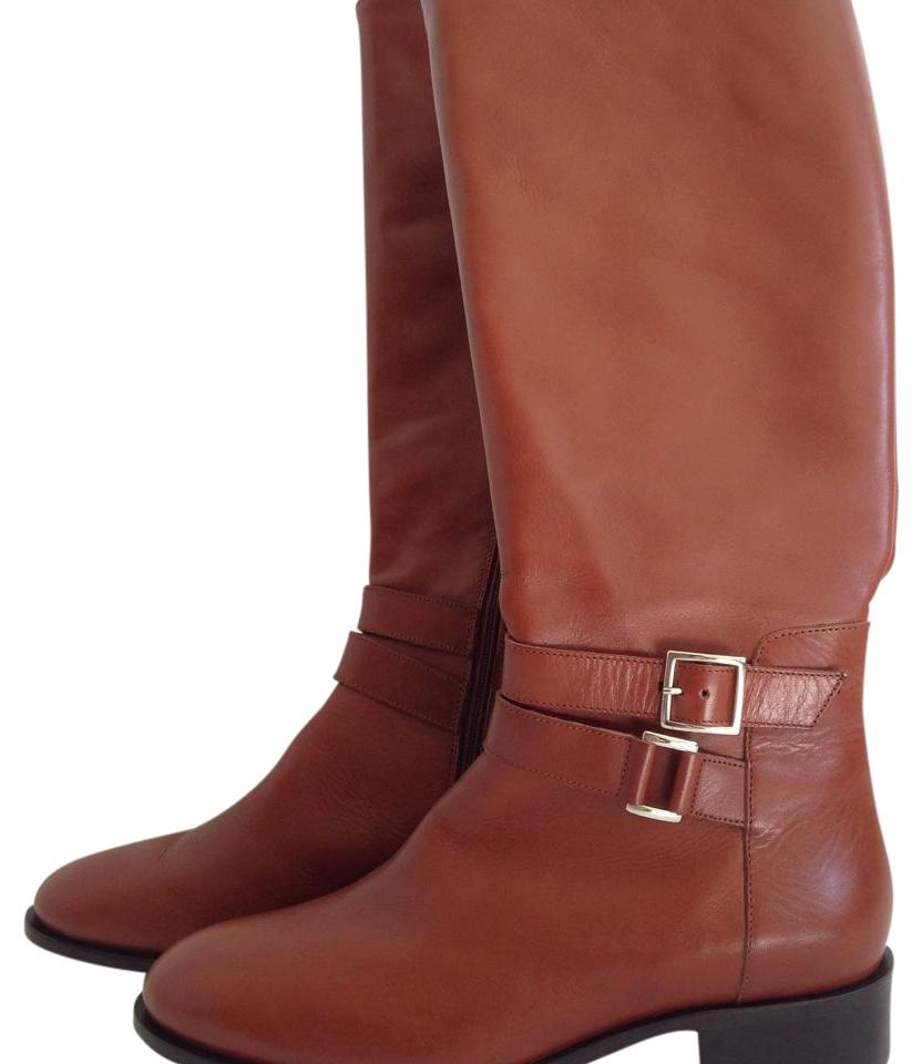 Saks Fifth Boots/Booties Avenue Brown Knee Length Boots/Booties Fifth 6141e3