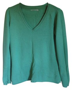 Old Navy Green V Neck Green Sweater