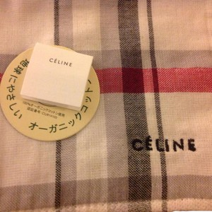 Céline Brand new organic cotton mini towel