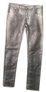 Faith Connexion Skinny Pants Silver