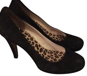 Franco Sarto Black Platforms